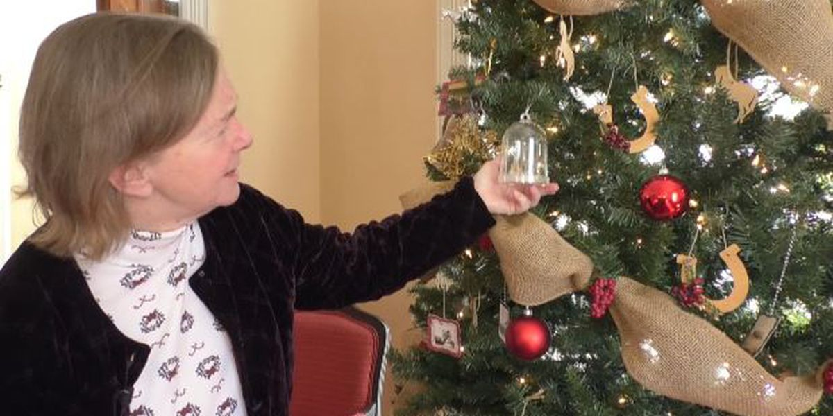 Decking the halls at Fort Drum's LeRay Mansion