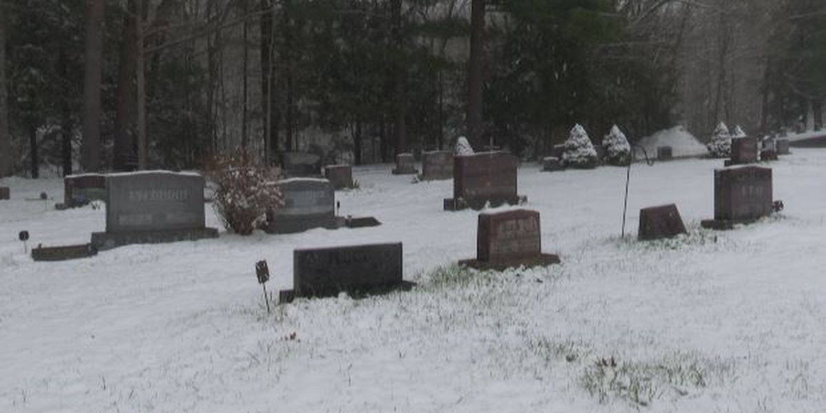 Vandalized cemetery repaired, history kept alive