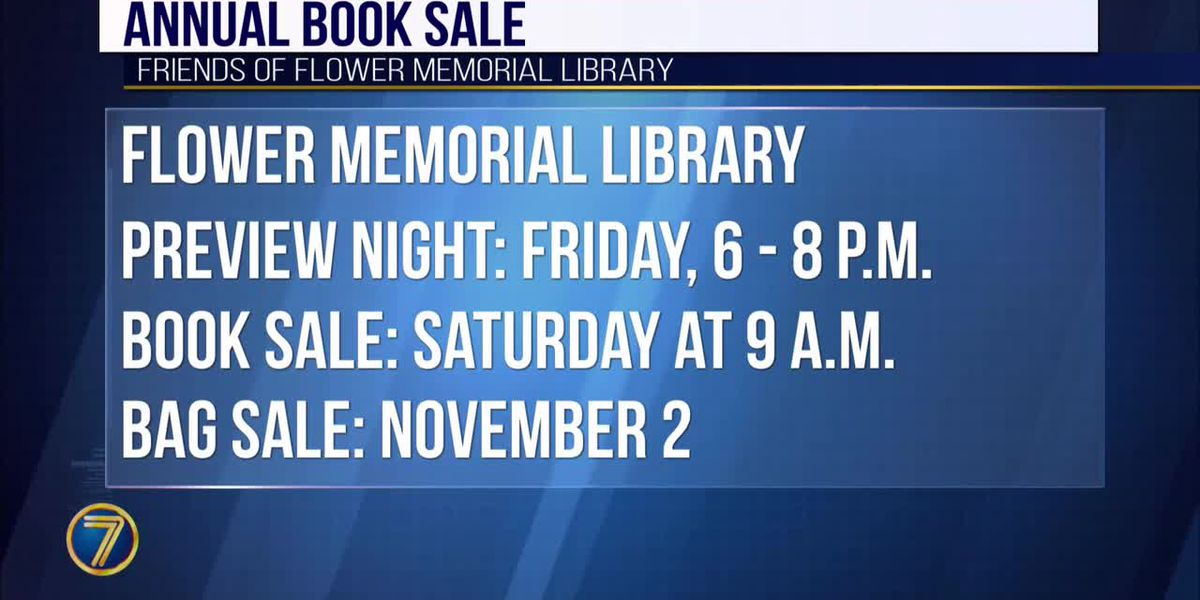 Flower Library book sale coming up soon