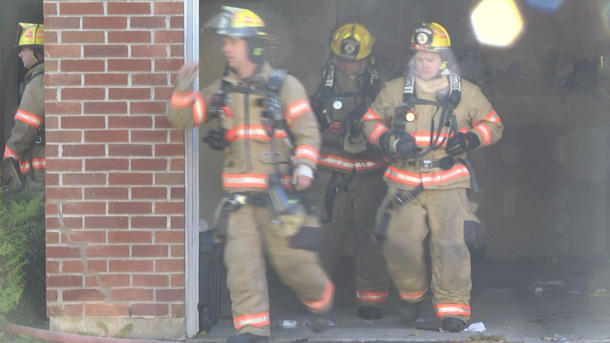 Fire damages Watertown apartment