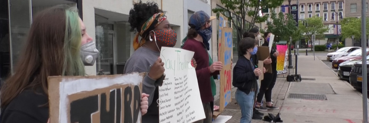 Peaceful protests continue in Watertown