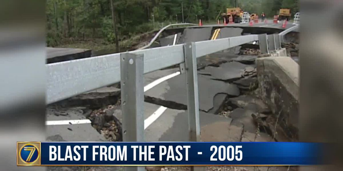 WWNY Blast from the Past: 2005 bridge washout in Colton