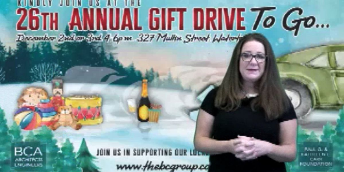 BCA's gift drive is now to go