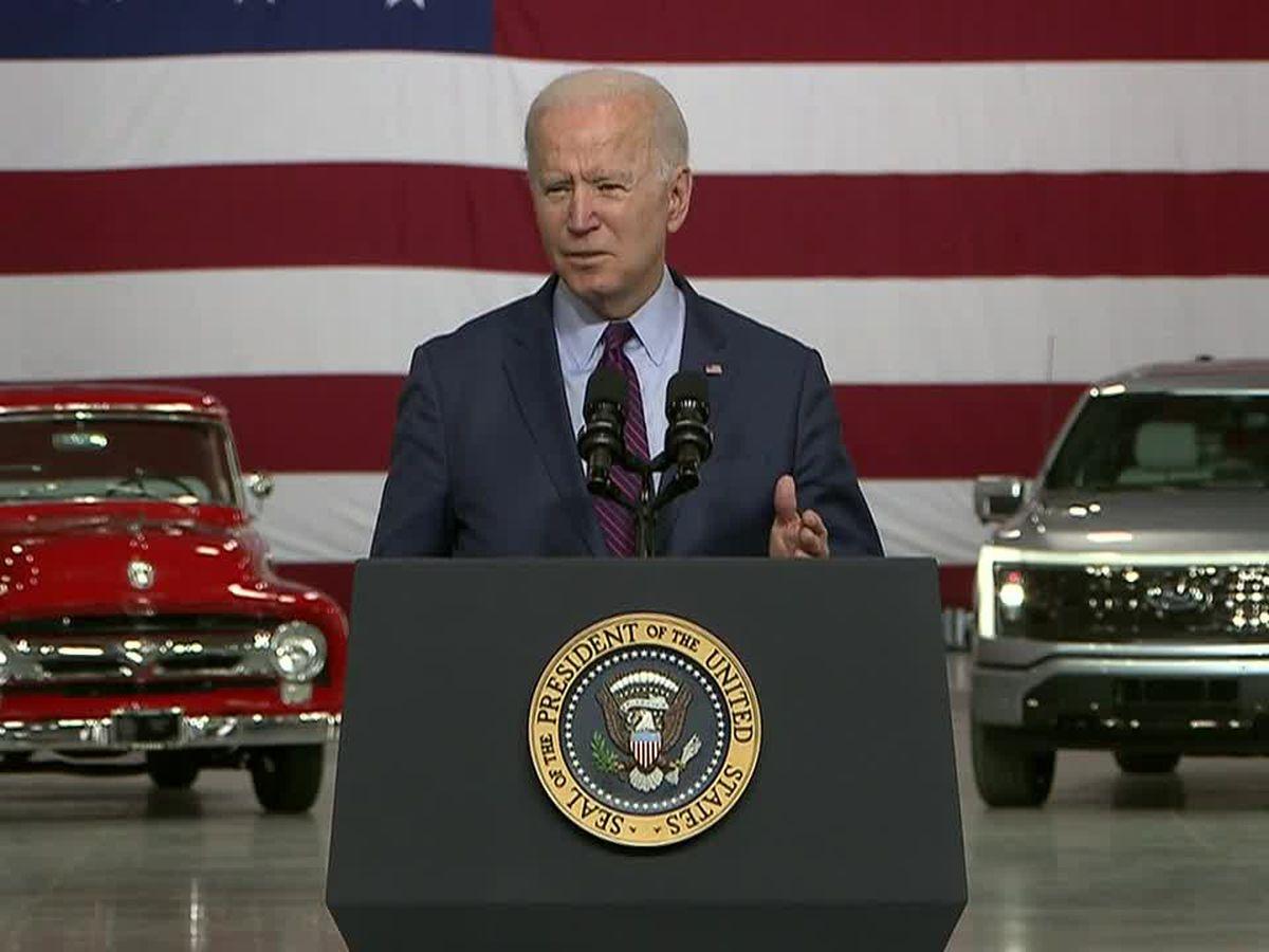 Biden's visit to spotlight electric vehicles overshadowed by Gaza violence