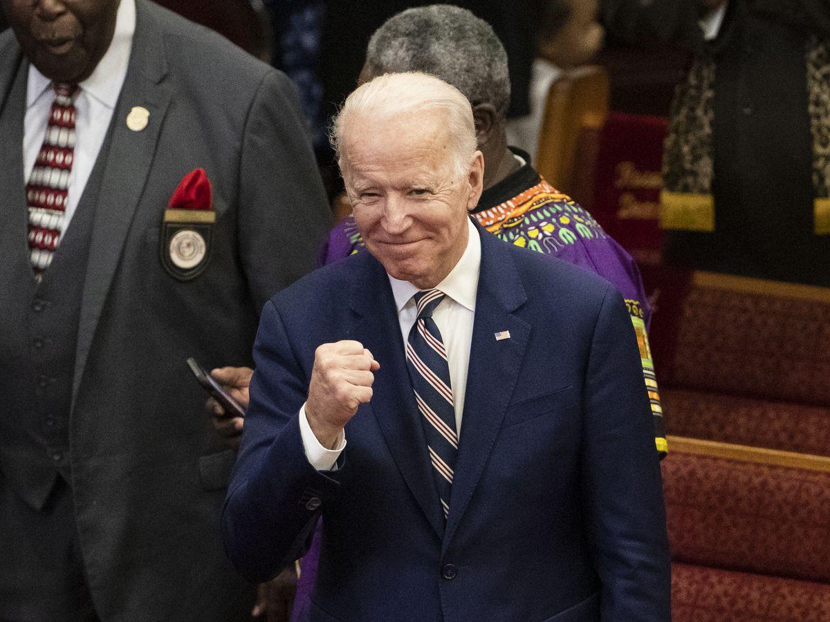 Biden predicts SC win as Democrats grapple with Sanders