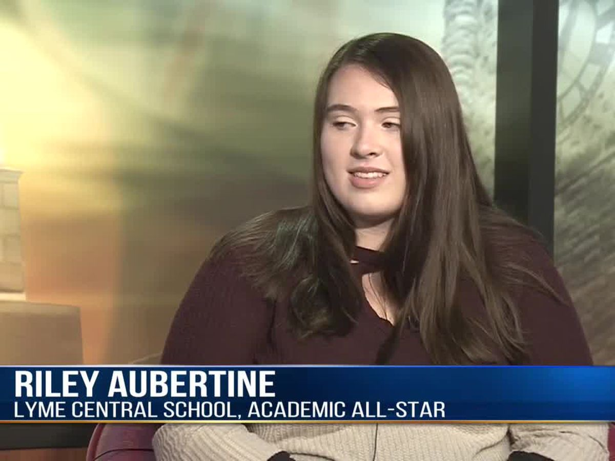 Academic All-Star: Riley Aubertine