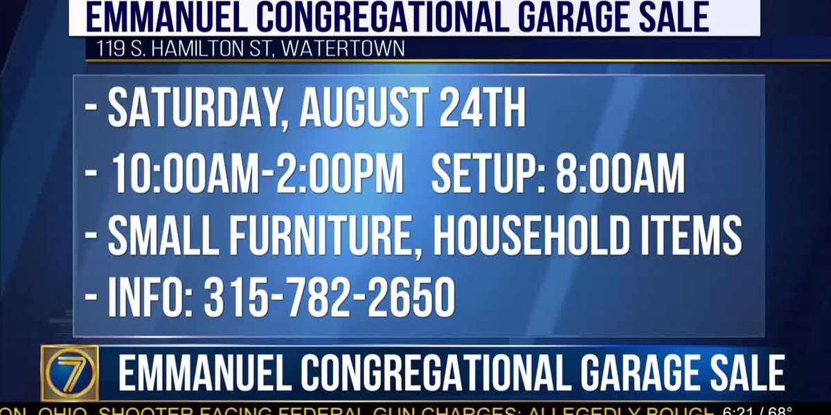 Have stuff to sell? Church to host 'garage sale'