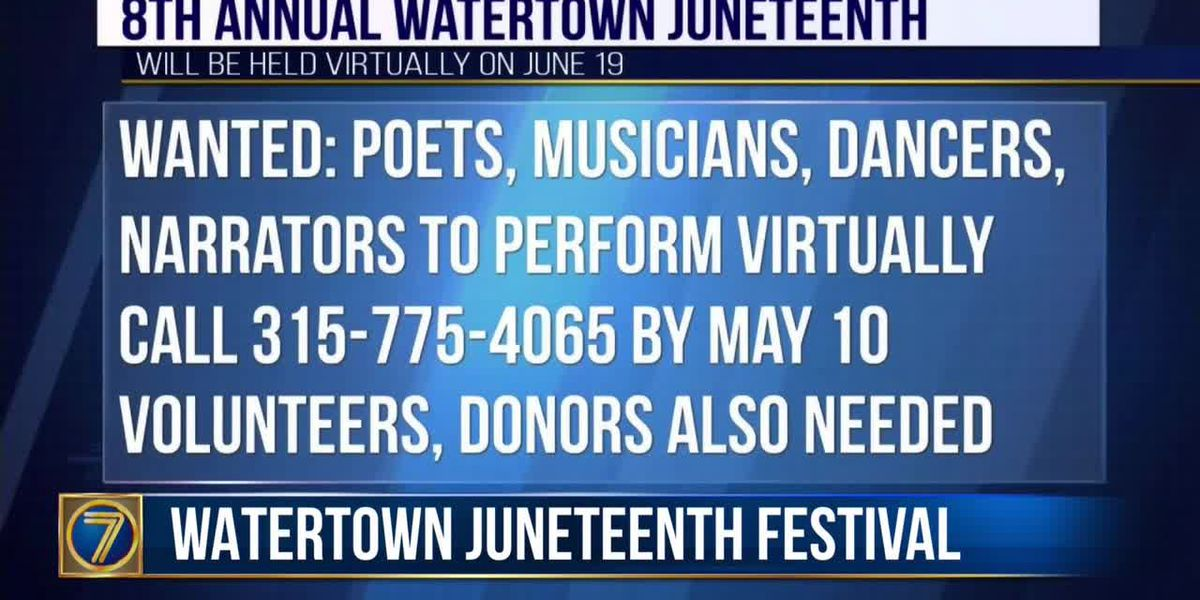 Performing artists sought for Watertown Juneteenth celebration