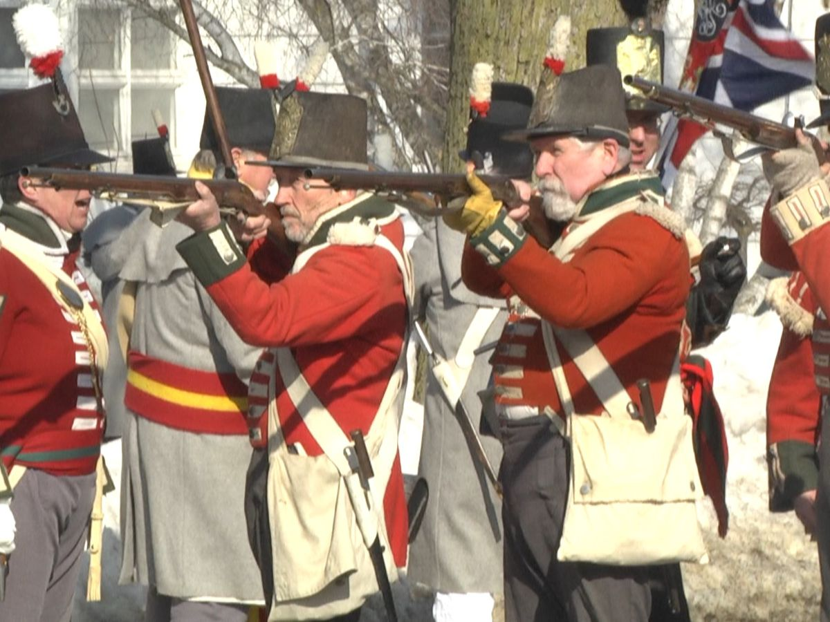 Reenactors recreate the Battle of Ogdensburg over 200 years later