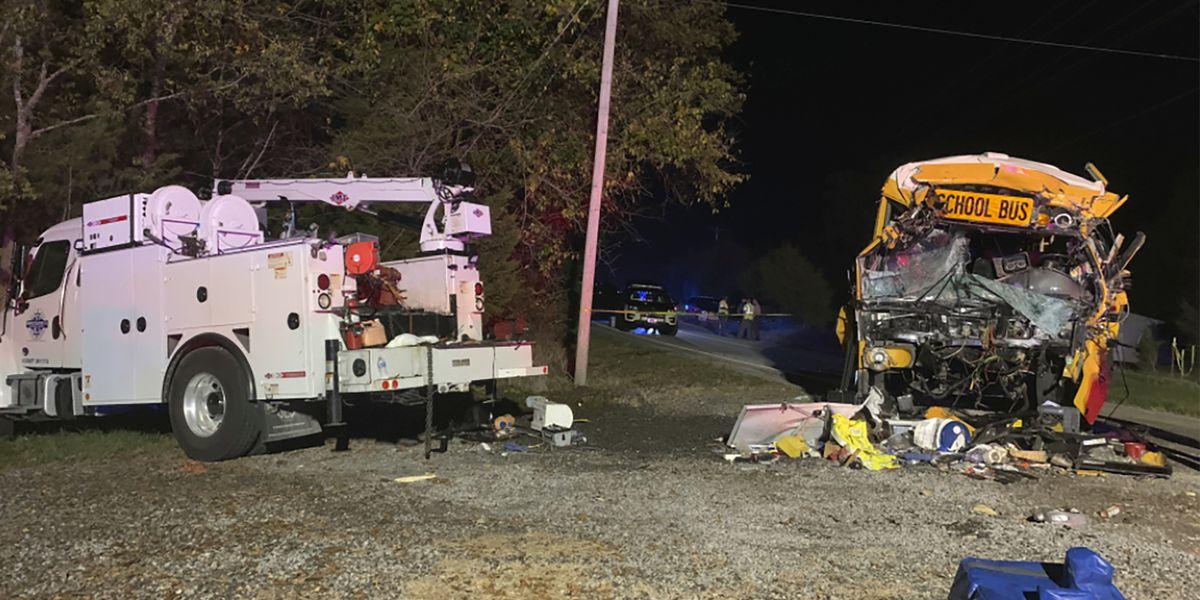 NTSB investigating Tenn. crash that killed school bus driver, girl
