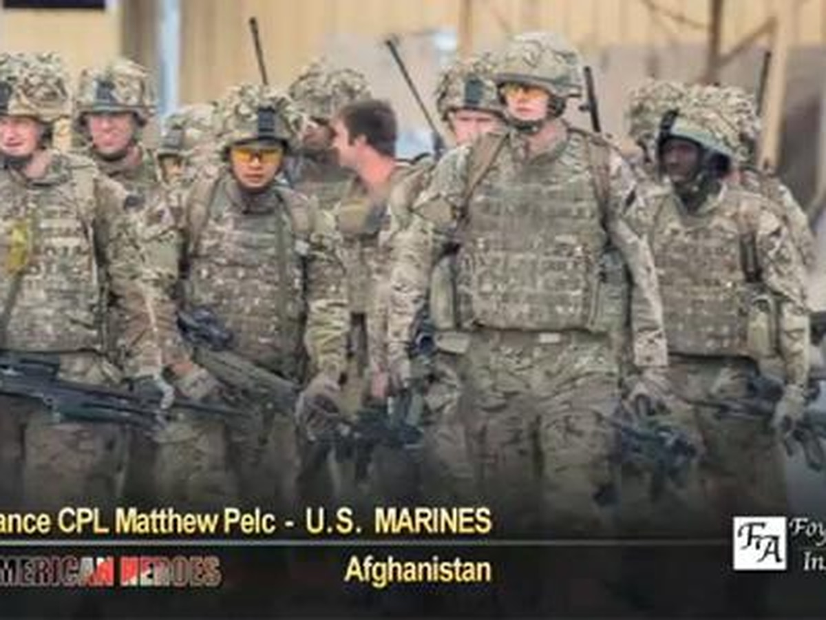 Matthew Pelc: on patrol with Brits