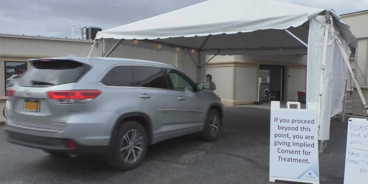 Drive-up COVID-19 test sites moving in Watertown, Lowville