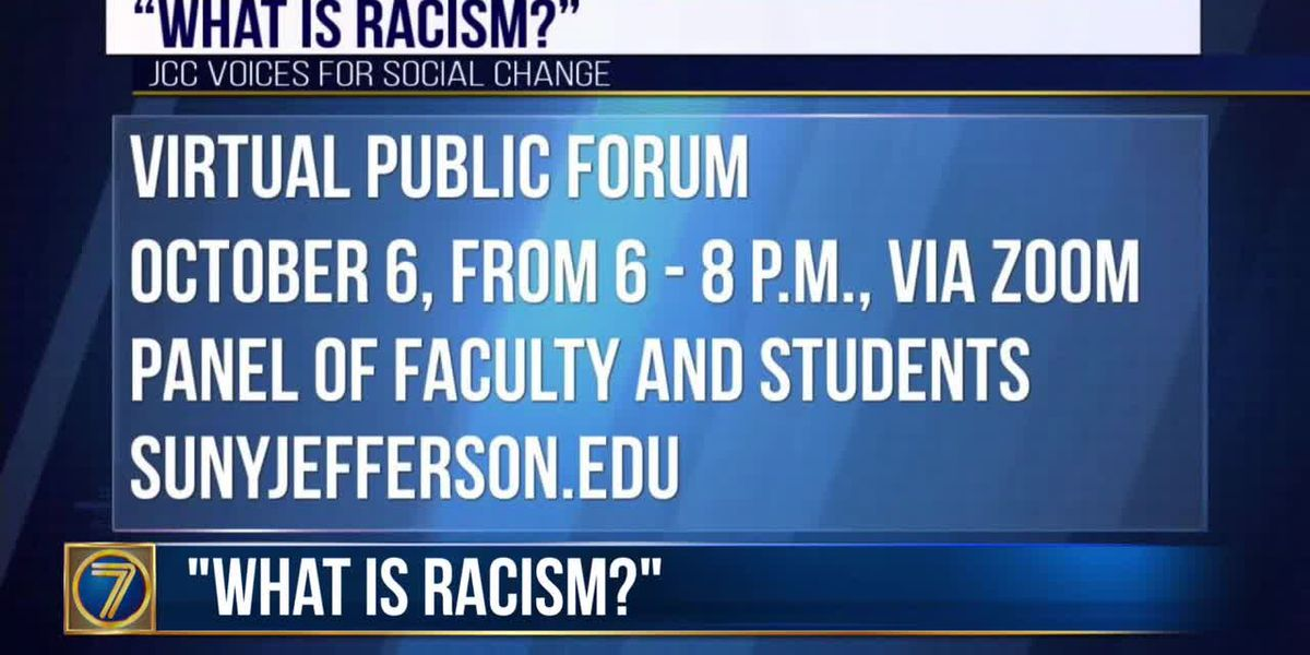 JCC to host virtural forum on racism