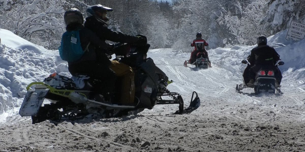 Tug Hill snowmobilers welcome fresh snow from Friday's blizzard