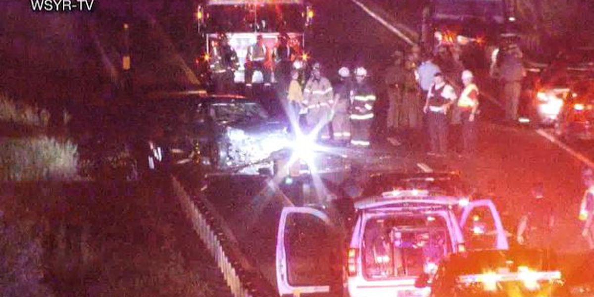 Fort Drum woman, passengers injured in multi-vehicle crash on I-81