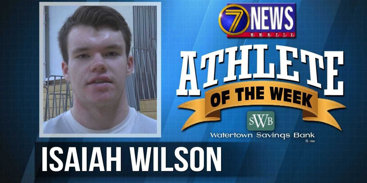 Athlete of the Week: Isaiah Wilson