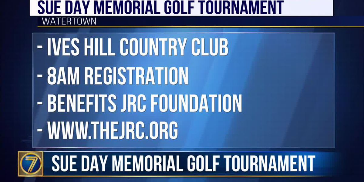 Sue Day Memorial Golf Tournament on September 6th