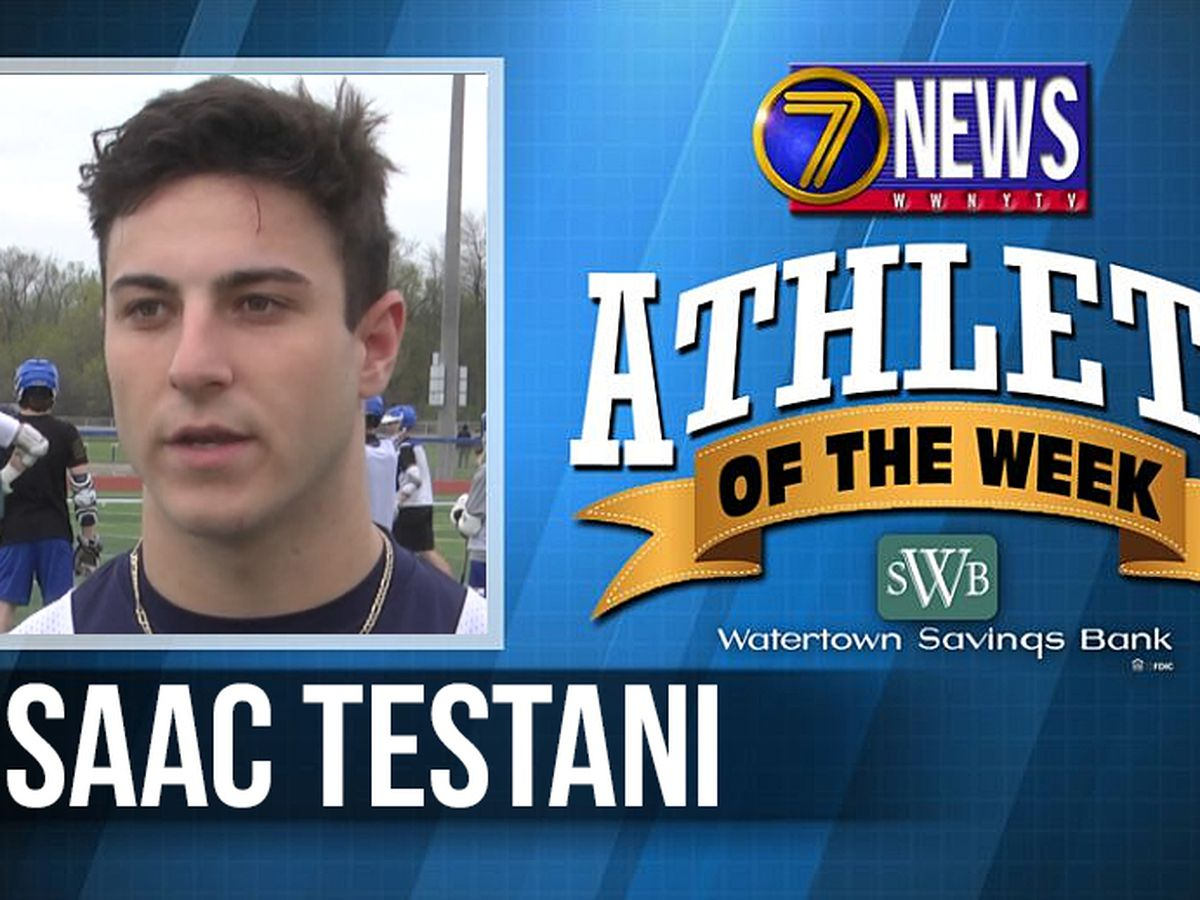 Athlete of the Week: Isaac Testani