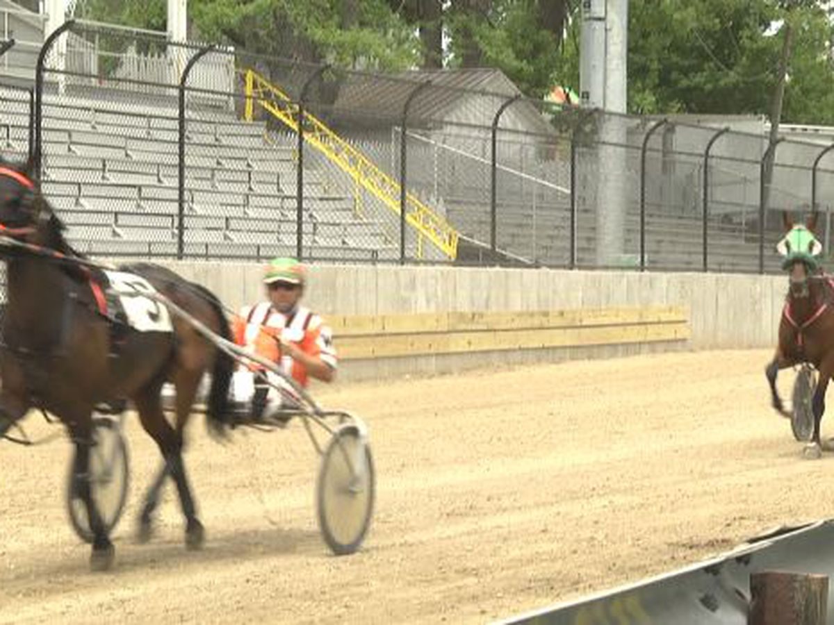 Behind the scenes at Lewis County Fair horse races