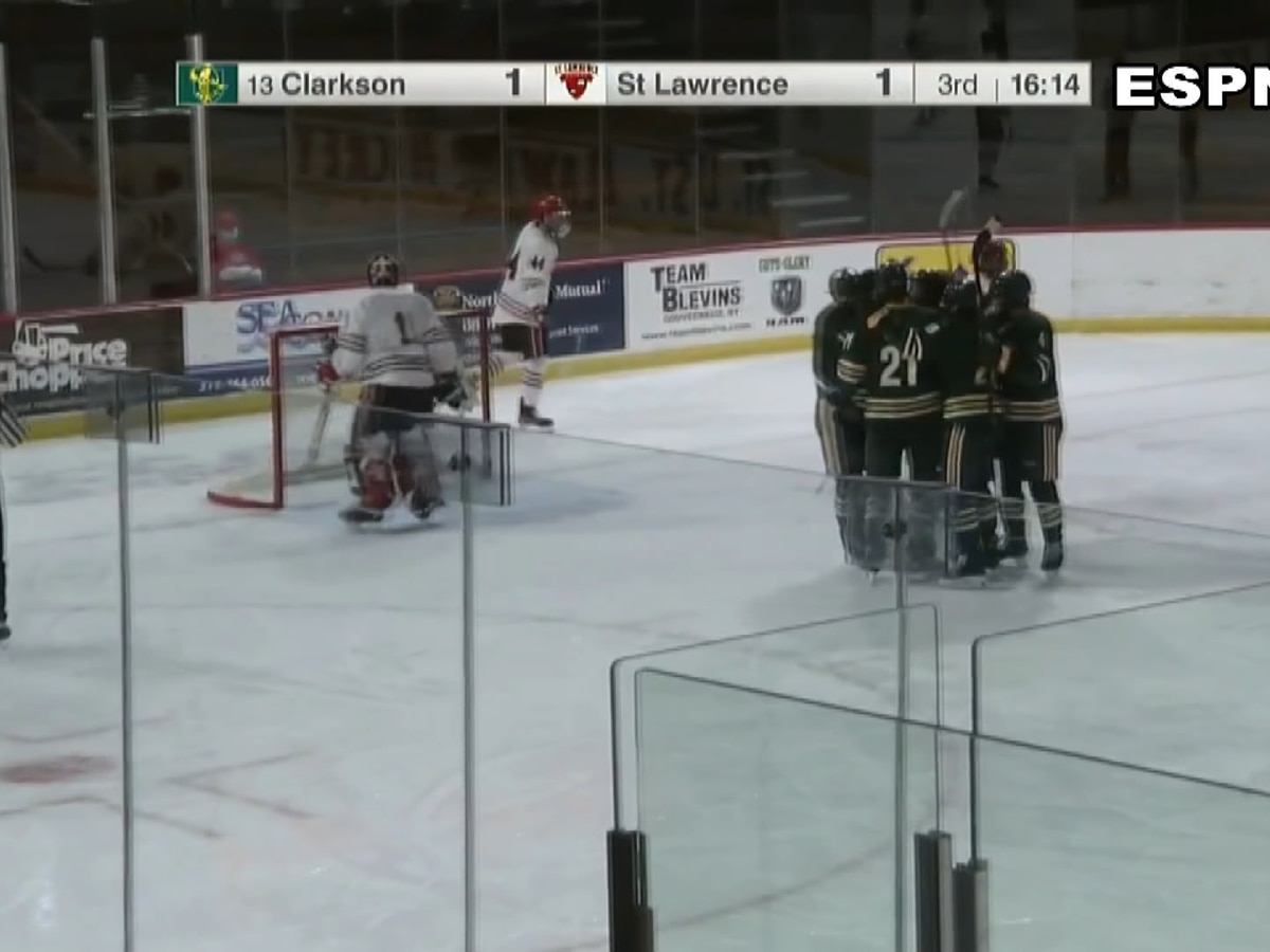 Sunday Sports: Clarkson denies SLU hockey a weekend sweep