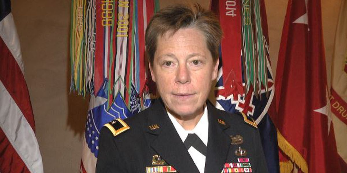 U.S. military's first openly gay general speaks at Fort Drum