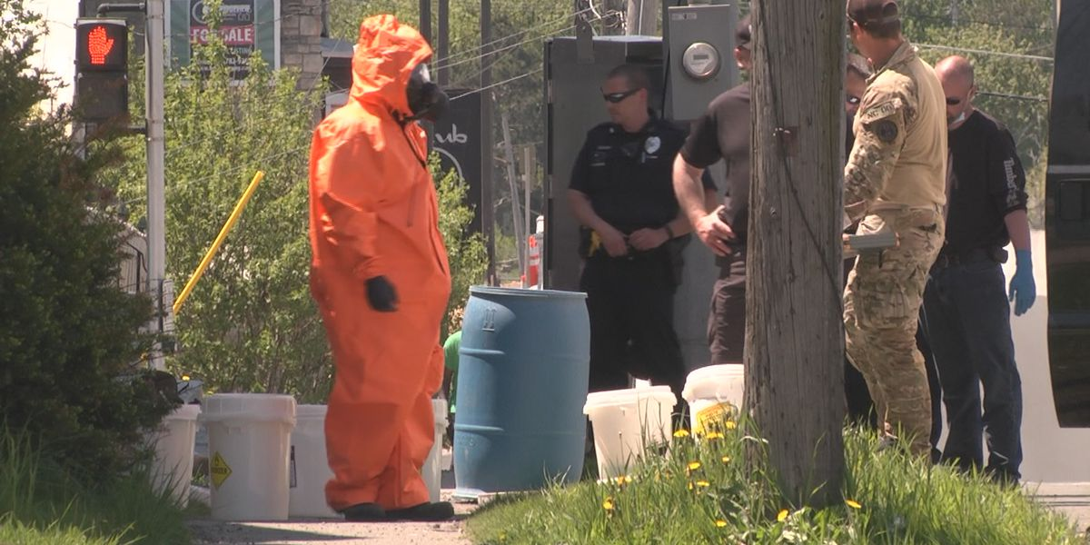 Police, drug task force investigate Watertown meth lab