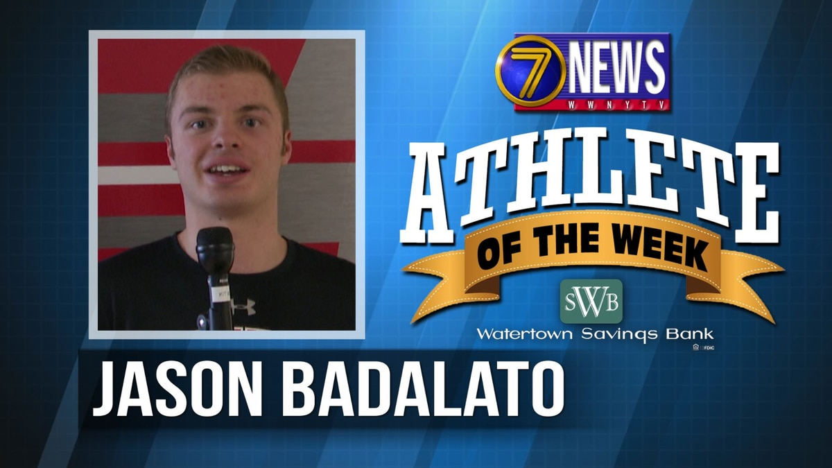Athlete of the Week: Jason Badalato