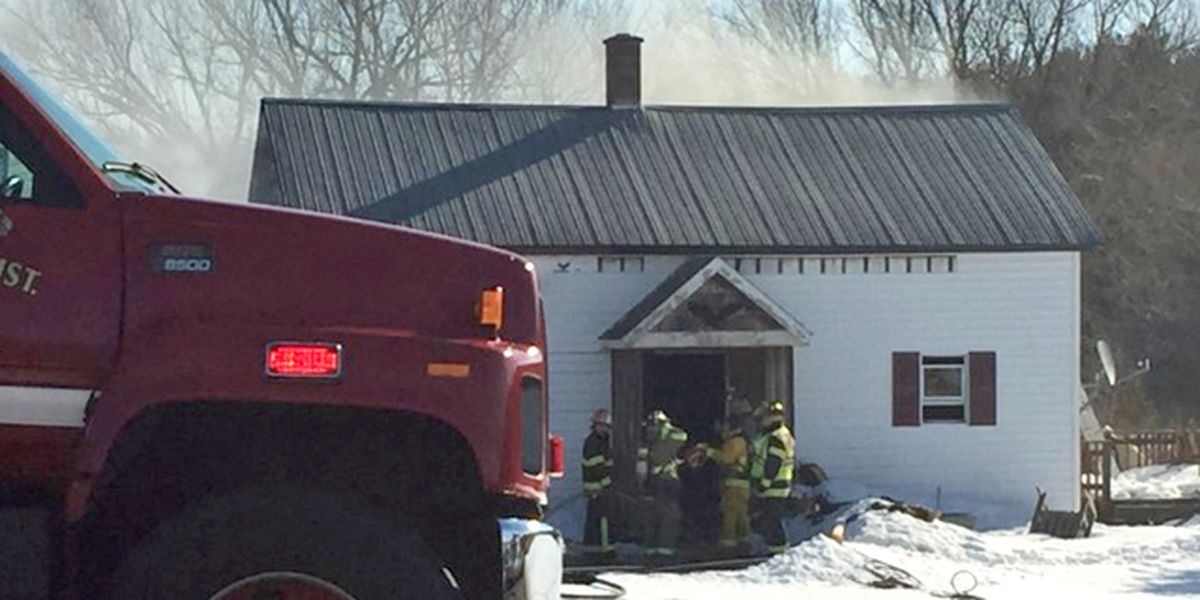 Fire damages home in Norfolk