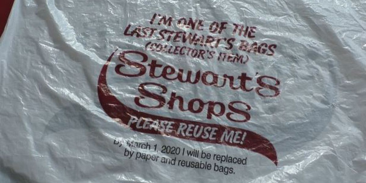Stewart's Shops offering 'collector' plastic bags