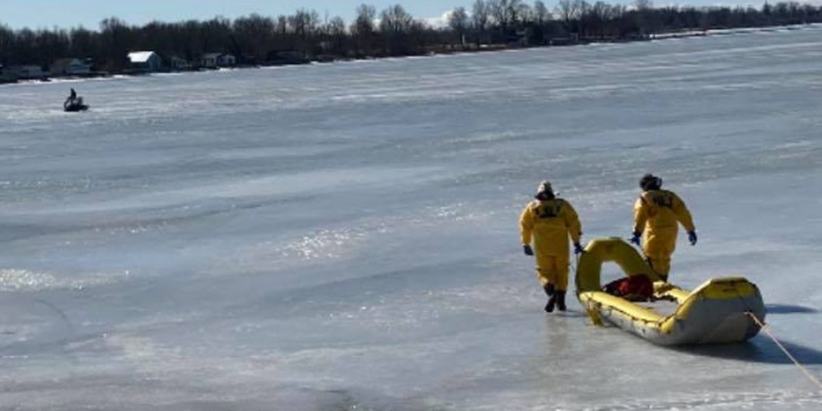 'Stay off the ice,' firefighters say