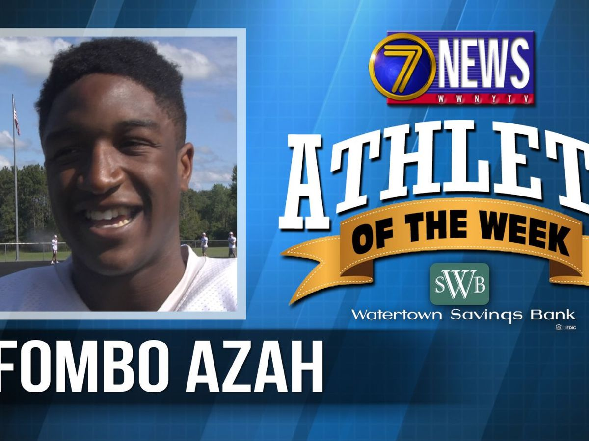 Athlete of the Week: Fombo Azah