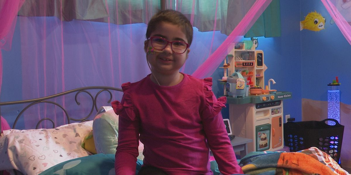 Watertown girl diagnosed with rare disease says she gets through it by being brave