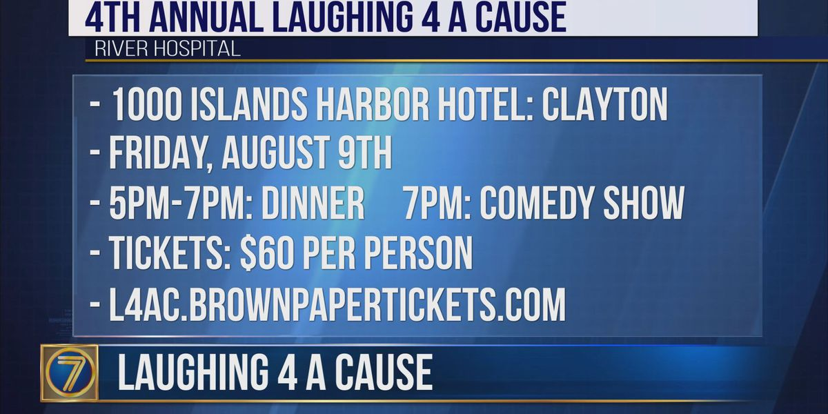 Laughing 4 a Cause to benefit River Hospital