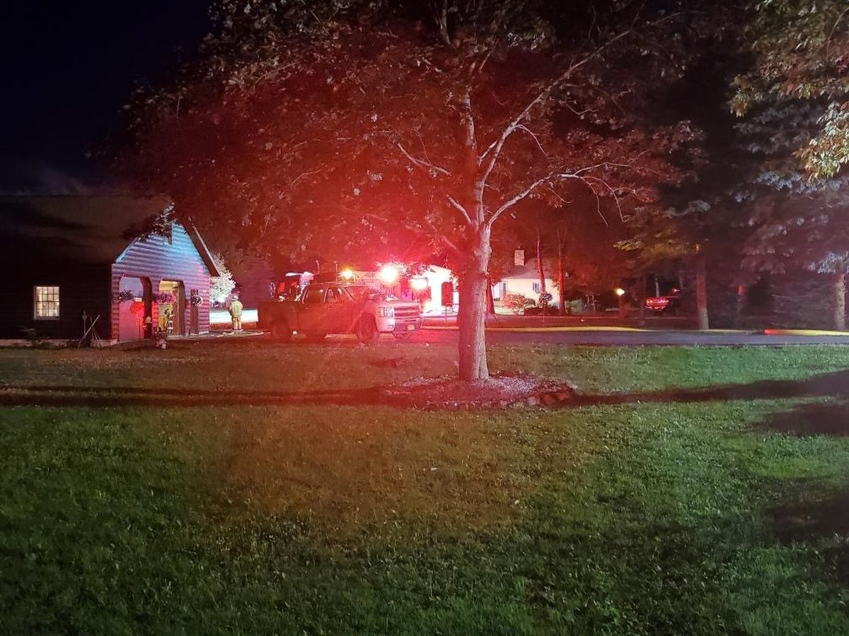 Firefighter injured as crews respond to a Town of Watertown fire