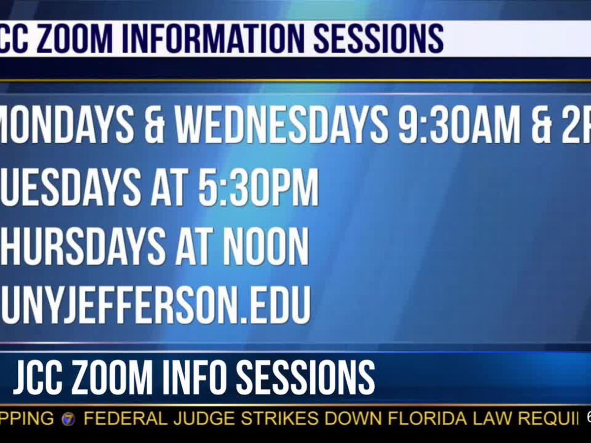 JCC offers Zoom information sessions