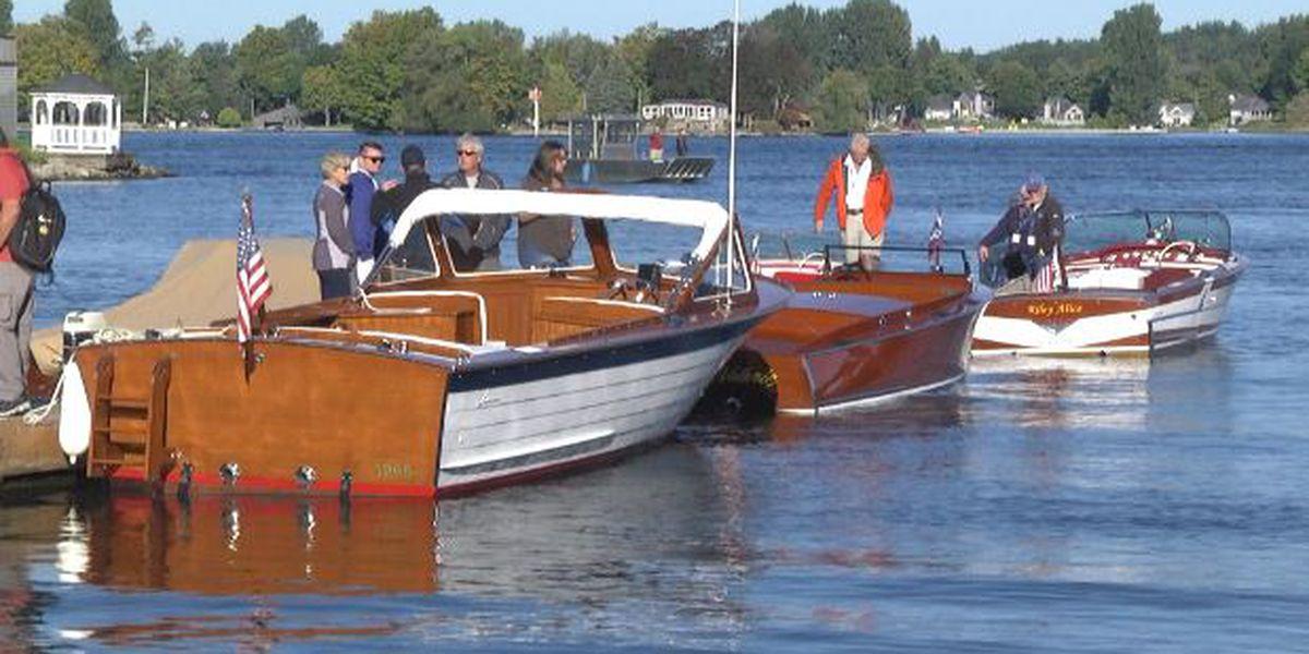 Antique & classic boats descend on Alexandria Bay