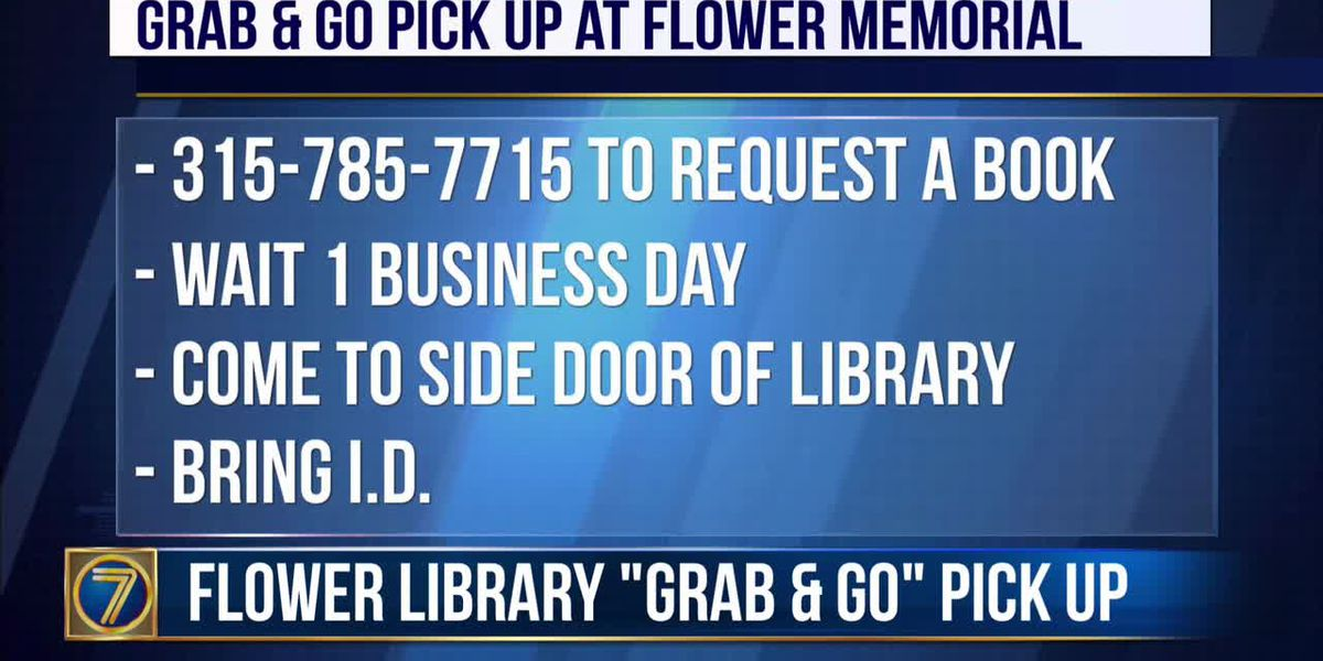 """WWNY Watertown's library offers """"Grab & Go"""" book pick up"""