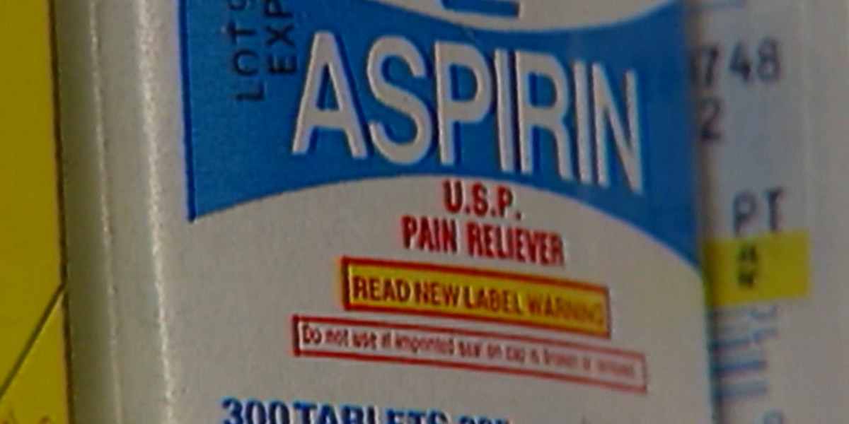 Brain bleeding triggers new aspirin recommendations