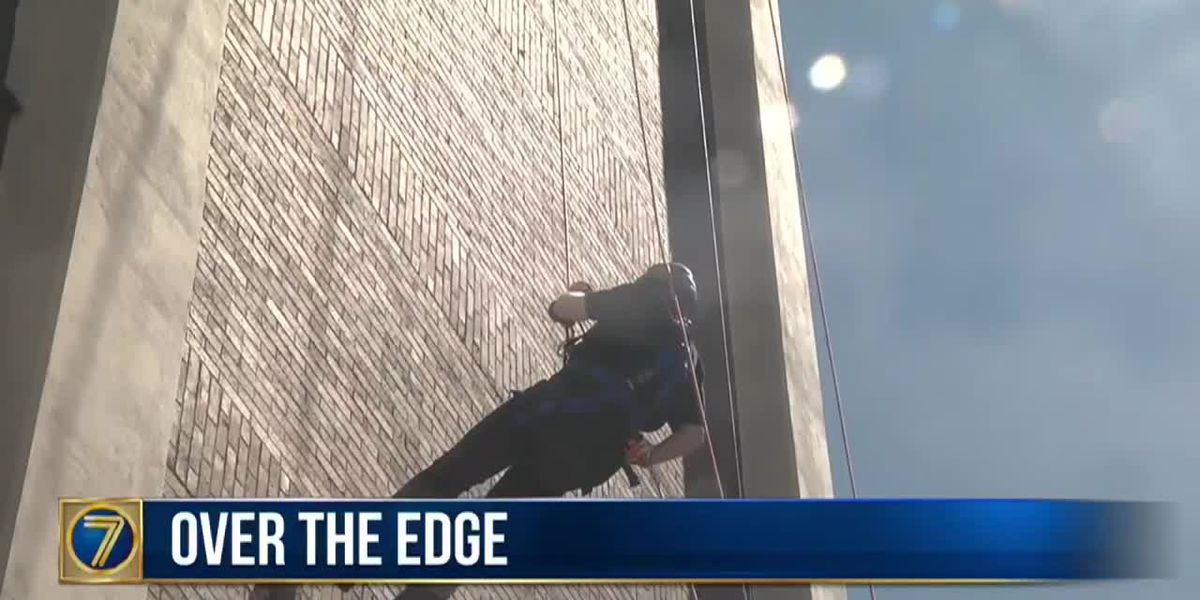"Doctor goes ""over the edge"" for local non-profits"