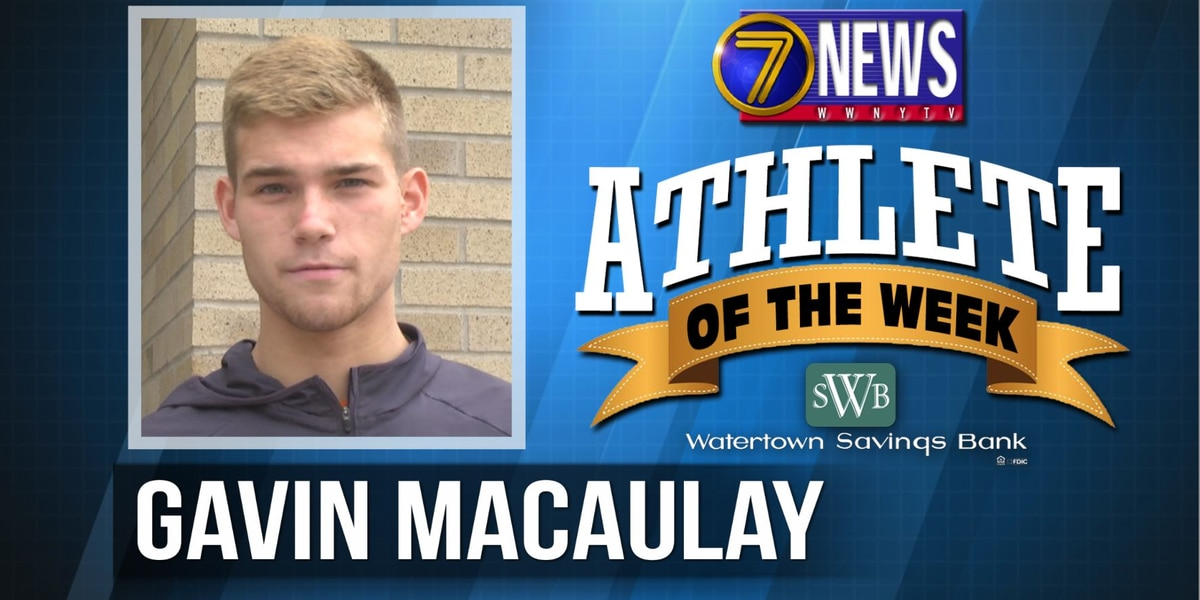 Athlete of the Week: Gavin Macaulay