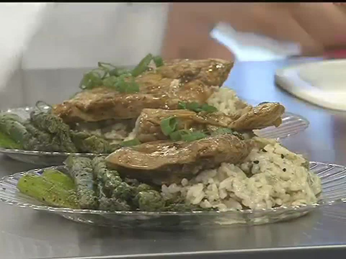 TV Dinner: Key lime grilled chicken