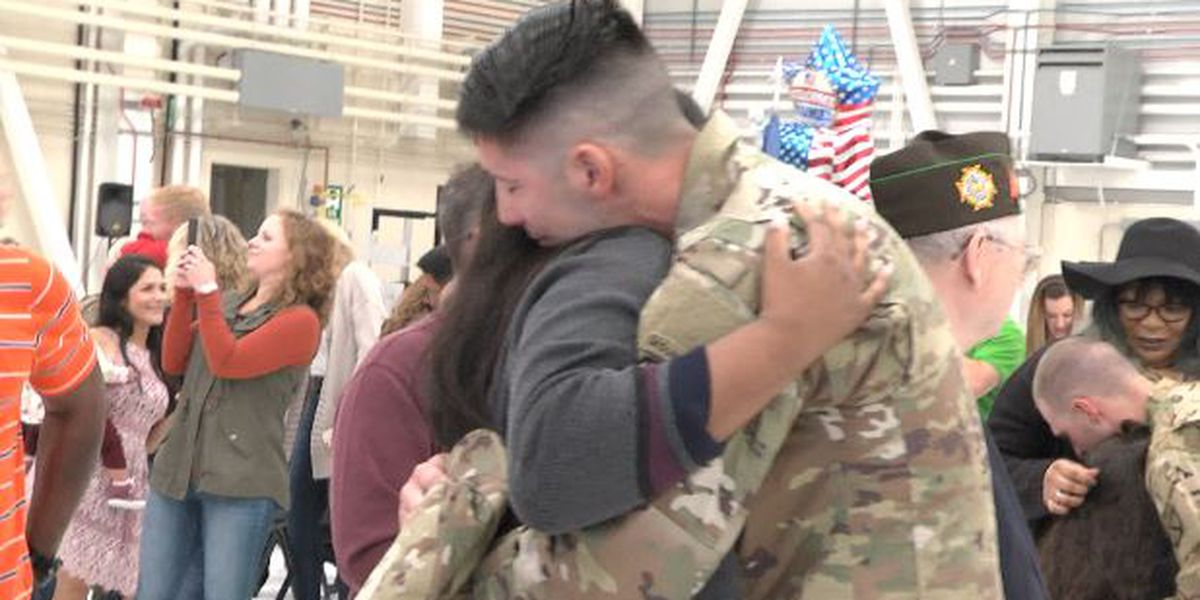 Fort Drum soldiers welcomed home from Iraq