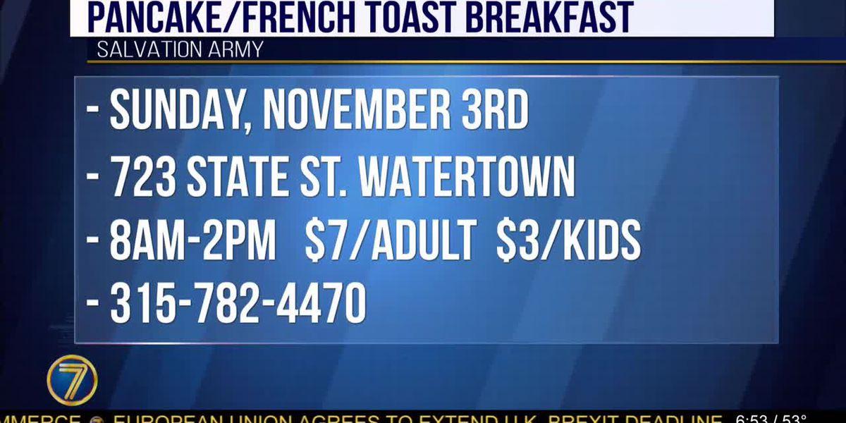 Salvation Army serves breakfast this weekend