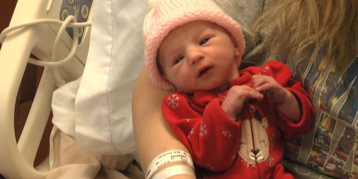 Donations being accepted to welcome New Year's Day baby