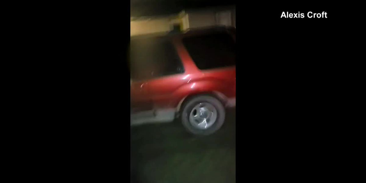 Caught on camera: SUV wrecks Mich. mother's yard then drags her down street