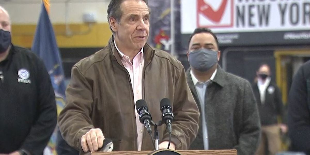 Live: Cuomo speaks publicly for 1st time in over a week