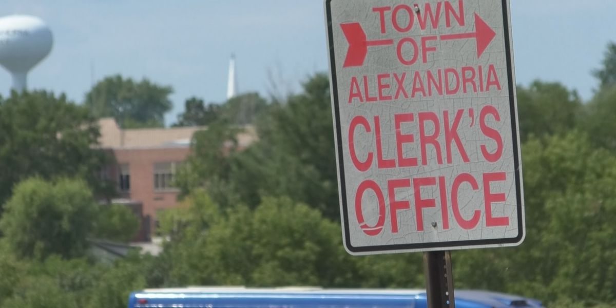 Saturday: Alexandria town clerk issues statement, plans on returning to work