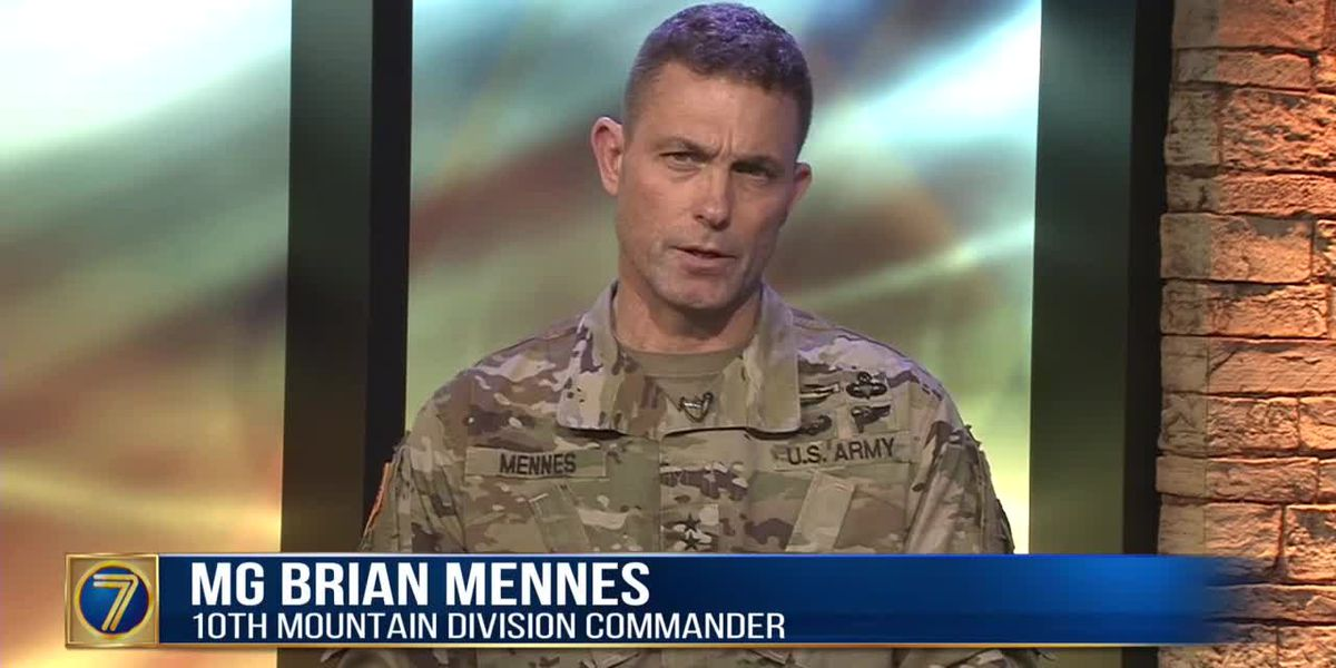 10th Mountain Division commander discusses Fort Drum, COVID-19 & soldiers in Afghanistan