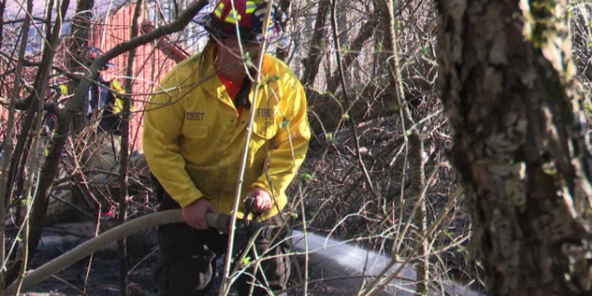 Dry conditions blamed for town of Rutland brush fire