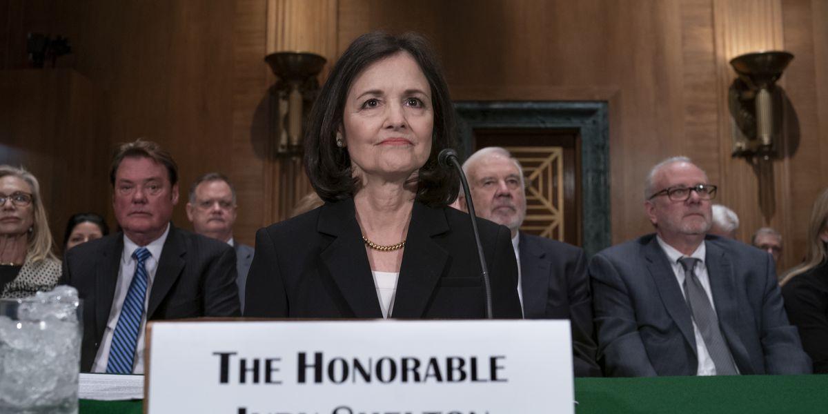 Senate panel approves Trump's Fed nominee Shelton